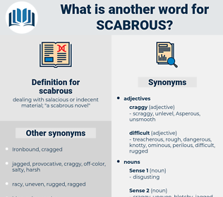 scabrous, synonym scabrous, another word for scabrous, words like scabrous, thesaurus scabrous