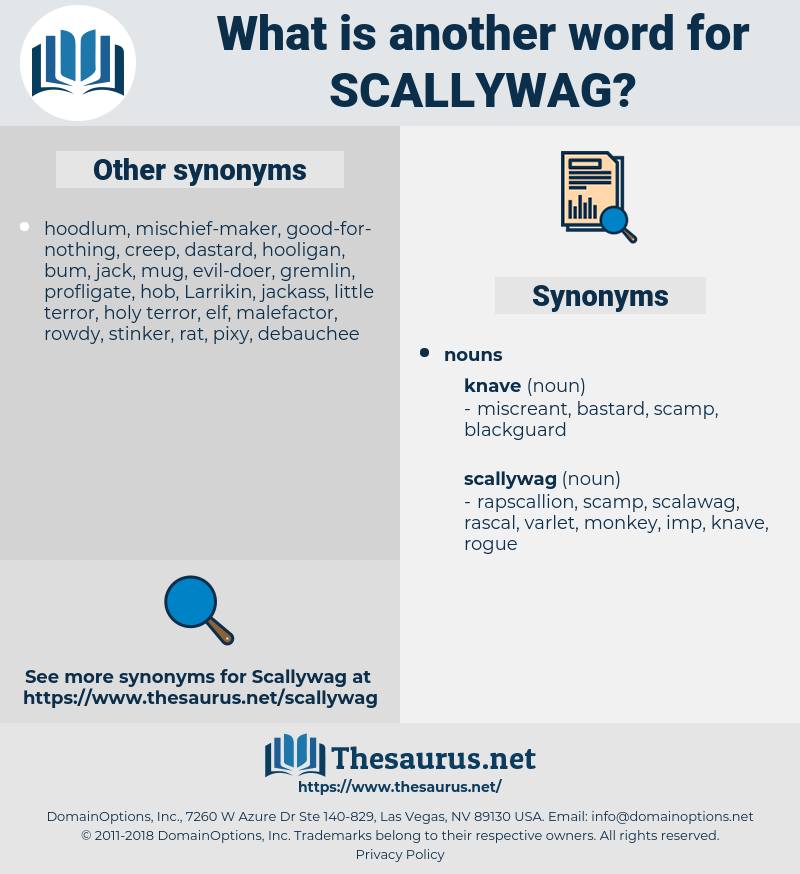 scallywag, synonym scallywag, another word for scallywag, words like scallywag, thesaurus scallywag