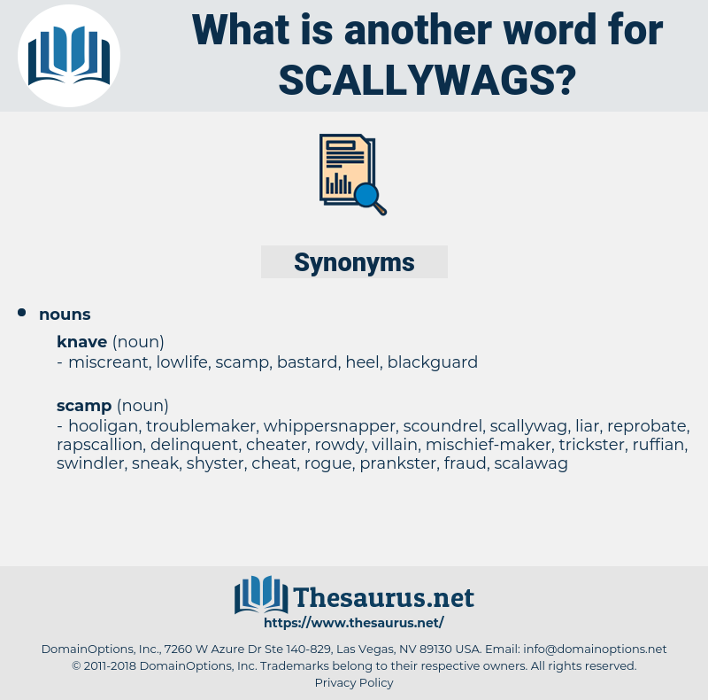scallywags, synonym scallywags, another word for scallywags, words like scallywags, thesaurus scallywags