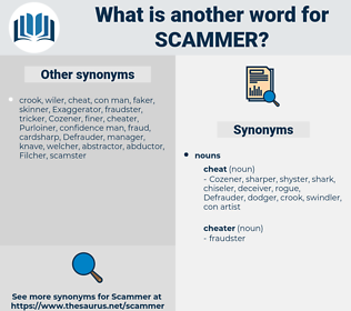 scammer, synonym scammer, another word for scammer, words like scammer, thesaurus scammer