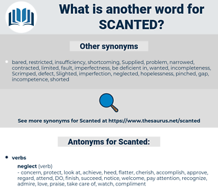 Scanted, synonym Scanted, another word for Scanted, words like Scanted, thesaurus Scanted