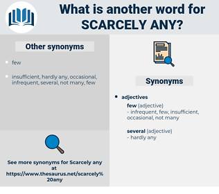 scarcely any, synonym scarcely any, another word for scarcely any, words like scarcely any, thesaurus scarcely any