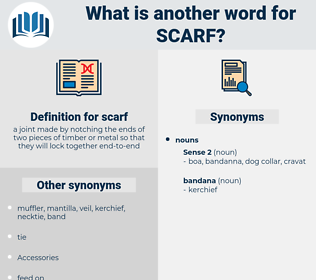 scarf, synonym scarf, another word for scarf, words like scarf, thesaurus scarf