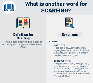 Scarfing, synonym Scarfing, another word for Scarfing, words like Scarfing, thesaurus Scarfing