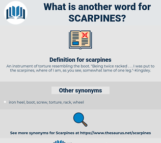 scarpines, synonym scarpines, another word for scarpines, words like scarpines, thesaurus scarpines