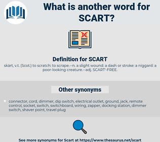 SCART, synonym SCART, another word for SCART, words like SCART, thesaurus SCART
