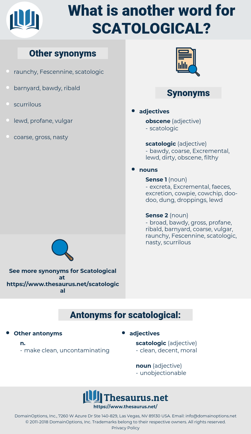 scatological, synonym scatological, another word for scatological, words like scatological, thesaurus scatological
