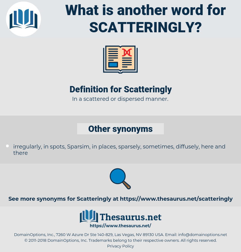 Scatteringly, synonym Scatteringly, another word for Scatteringly, words like Scatteringly, thesaurus Scatteringly