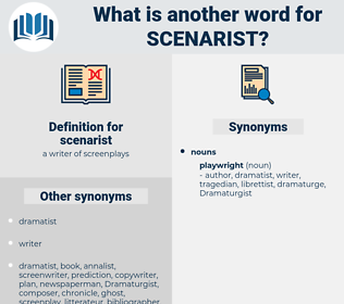 scenarist, synonym scenarist, another word for scenarist, words like scenarist, thesaurus scenarist