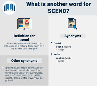scend, synonym scend, another word for scend, words like scend, thesaurus scend