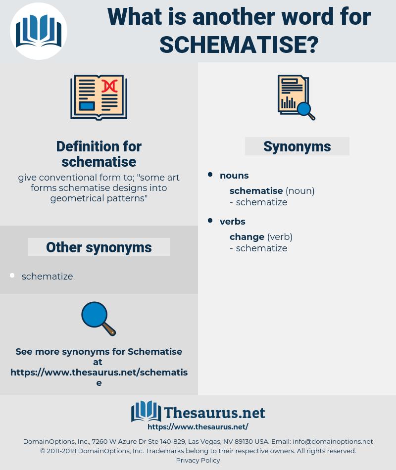 schematise, synonym schematise, another word for schematise, words like schematise, thesaurus schematise