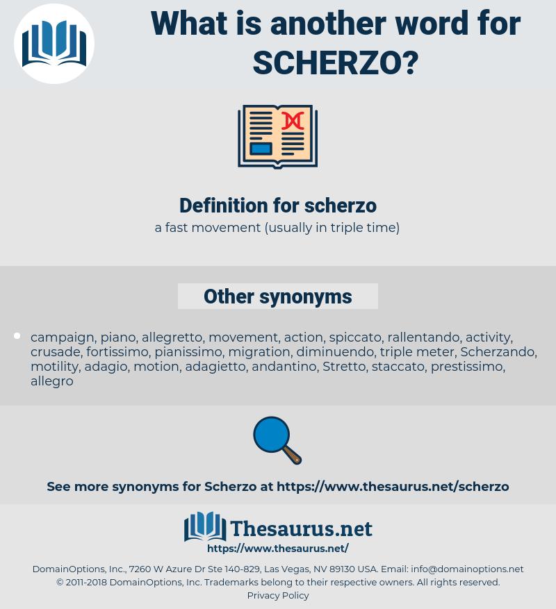 scherzo, synonym scherzo, another word for scherzo, words like scherzo, thesaurus scherzo