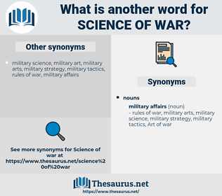 science of war, synonym science of war, another word for science of war, words like science of war, thesaurus science of war