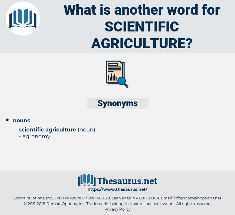 scientific agriculture, synonym scientific agriculture, another word for scientific agriculture, words like scientific agriculture, thesaurus scientific agriculture