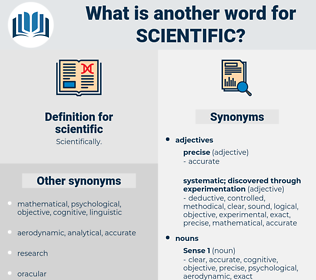 scientific, synonym scientific, another word for scientific, words like scientific, thesaurus scientific