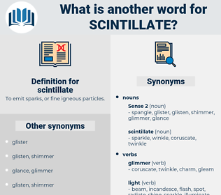 scintillate, synonym scintillate, another word for scintillate, words like scintillate, thesaurus scintillate