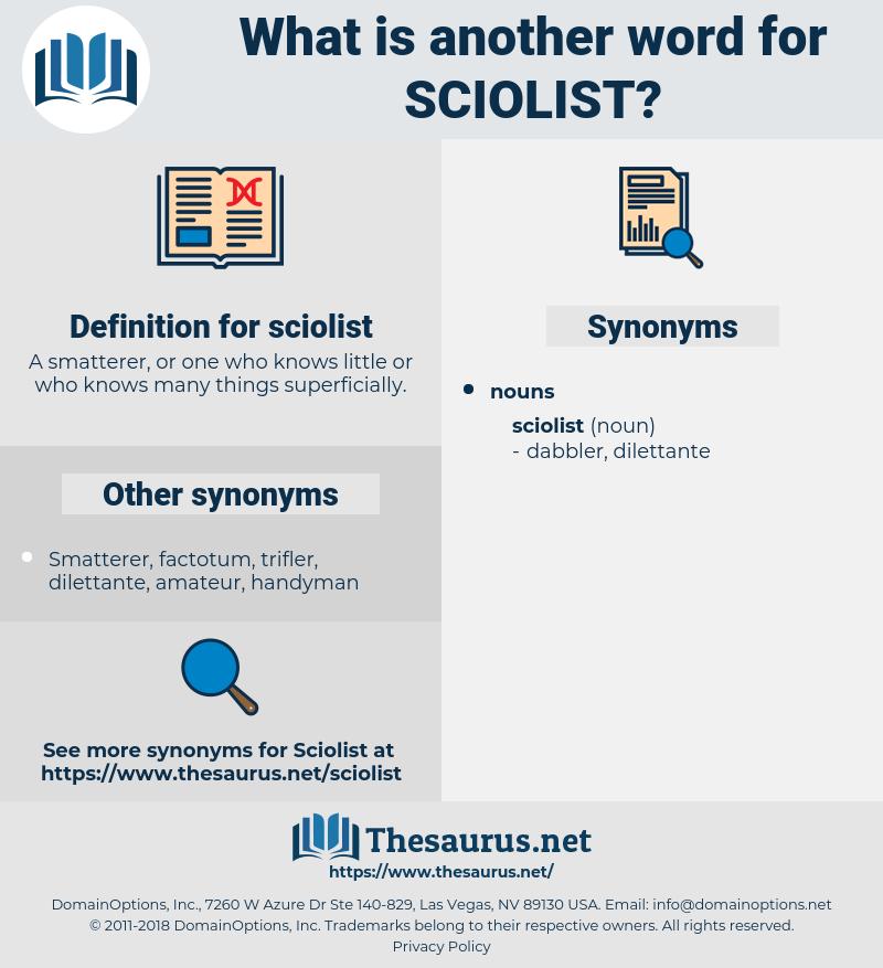 sciolist, synonym sciolist, another word for sciolist, words like sciolist, thesaurus sciolist