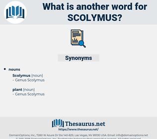 scolymus, synonym scolymus, another word for scolymus, words like scolymus, thesaurus scolymus