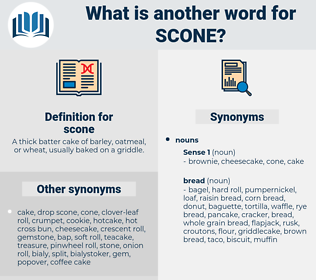 scone, synonym scone, another word for scone, words like scone, thesaurus scone