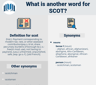 scot, synonym scot, another word for scot, words like scot, thesaurus scot