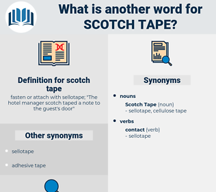 scotch tape, synonym scotch tape, another word for scotch tape, words like scotch tape, thesaurus scotch tape
