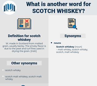 scotch whiskey, synonym scotch whiskey, another word for scotch whiskey, words like scotch whiskey, thesaurus scotch whiskey