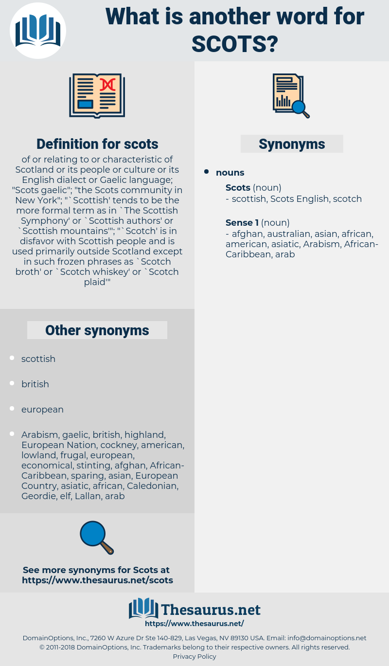 scots, synonym scots, another word for scots, words like scots, thesaurus scots