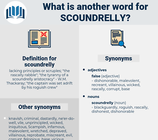 scoundrelly, synonym scoundrelly, another word for scoundrelly, words like scoundrelly, thesaurus scoundrelly