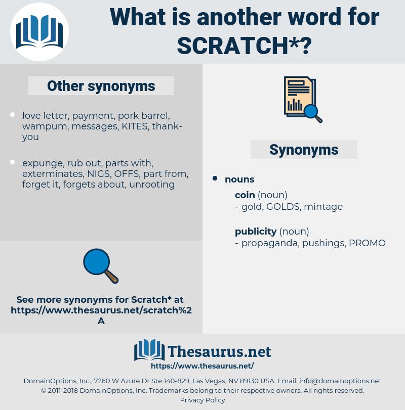 scratch, synonym scratch, another word for scratch, words like scratch, thesaurus scratch