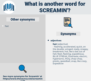 screamin', synonym screamin', another word for screamin', words like screamin', thesaurus screamin'