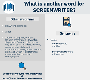 screenwriter, synonym screenwriter, another word for screenwriter, words like screenwriter, thesaurus screenwriter