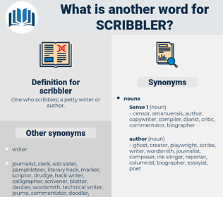 scribbler, synonym scribbler, another word for scribbler, words like scribbler, thesaurus scribbler