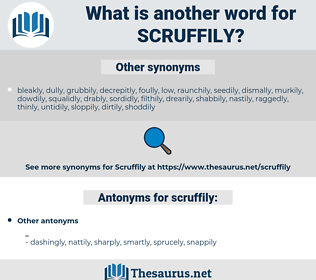 scruffily, synonym scruffily, another word for scruffily, words like scruffily, thesaurus scruffily