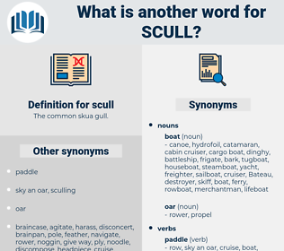 scull, synonym scull, another word for scull, words like scull, thesaurus scull
