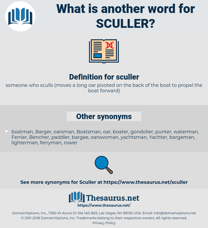 sculler, synonym sculler, another word for sculler, words like sculler, thesaurus sculler