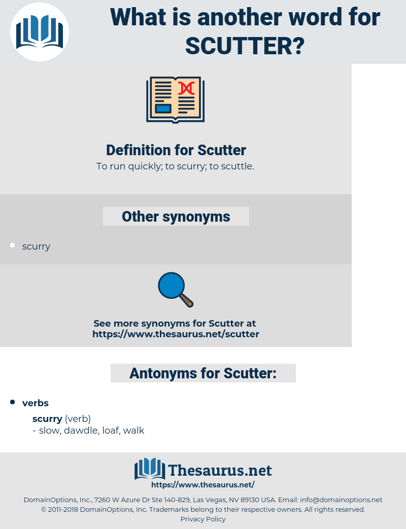 Scutter, synonym Scutter, another word for Scutter, words like Scutter, thesaurus Scutter