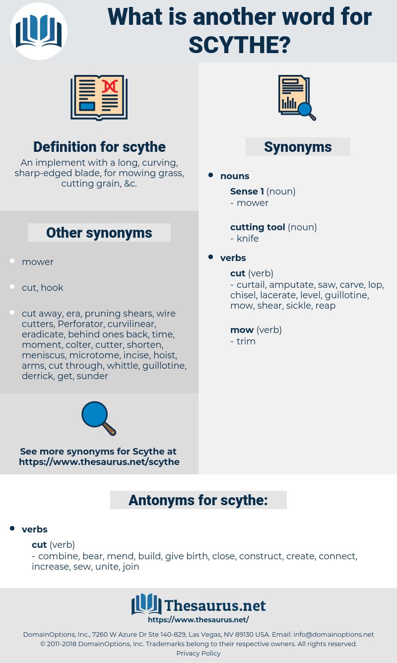 scythe, synonym scythe, another word for scythe, words like scythe, thesaurus scythe