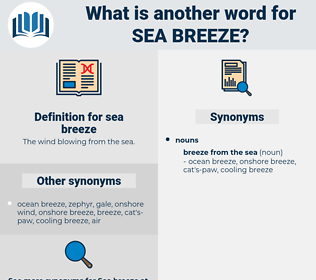 sea breeze, synonym sea breeze, another word for sea breeze, words like sea breeze, thesaurus sea breeze