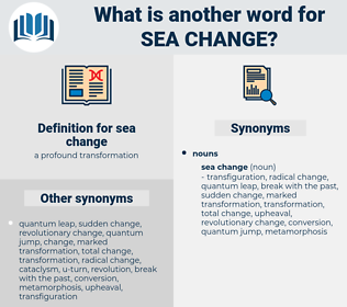 sea change, synonym sea change, another word for sea change, words like sea change, thesaurus sea change