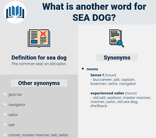 sea dog, synonym sea dog, another word for sea dog, words like sea dog, thesaurus sea dog