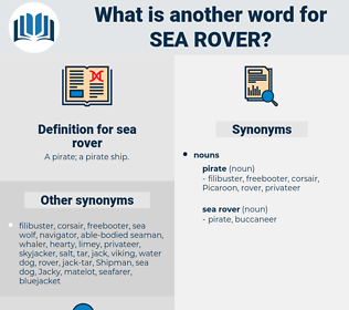 sea rover, synonym sea rover, another word for sea rover, words like sea rover, thesaurus sea rover