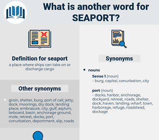 seaport, synonym seaport, another word for seaport, words like seaport, thesaurus seaport