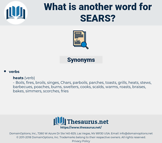 sears, synonym sears, another word for sears, words like sears, thesaurus sears
