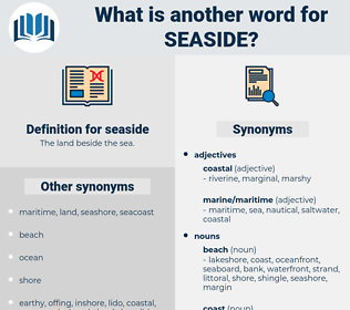seaside, synonym seaside, another word for seaside, words like seaside, thesaurus seaside