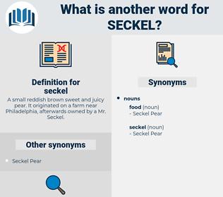 seckel, synonym seckel, another word for seckel, words like seckel, thesaurus seckel