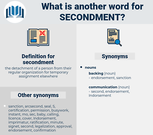 secondment, synonym secondment, another word for secondment, words like secondment, thesaurus secondment
