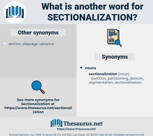 sectionalization, synonym sectionalization, another word for sectionalization, words like sectionalization, thesaurus sectionalization