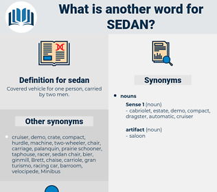 sedan, synonym sedan, another word for sedan, words like sedan, thesaurus sedan