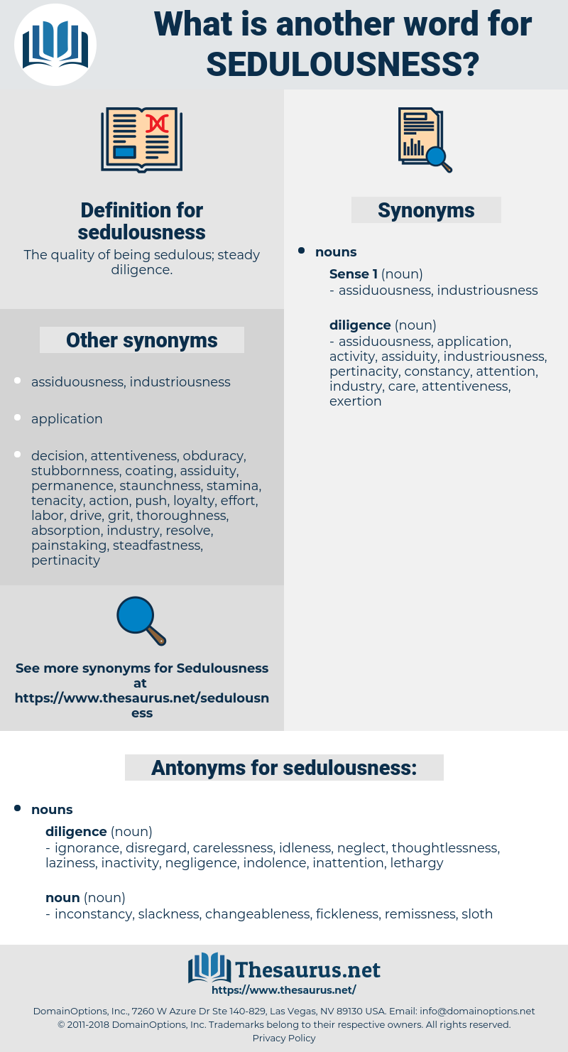 sedulousness, synonym sedulousness, another word for sedulousness, words like sedulousness, thesaurus sedulousness