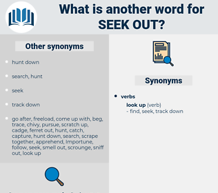 seek out, synonym seek out, another word for seek out, words like seek out, thesaurus seek out